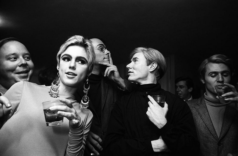 andy warhol, edie sedgwick, the factory