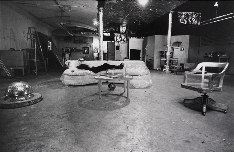 andy warhol, the factory