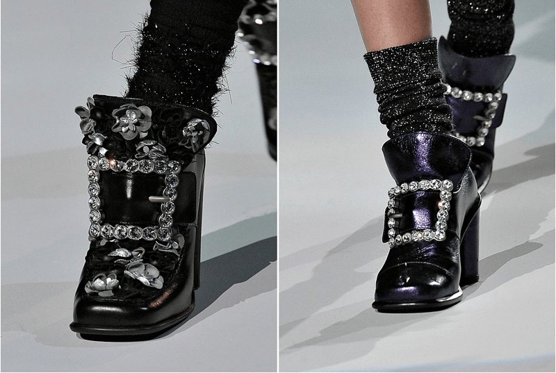 marc jacobs fall 2012, louis XIV shoes