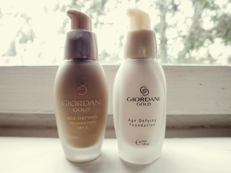 giordani gold foundation, makeup essentials