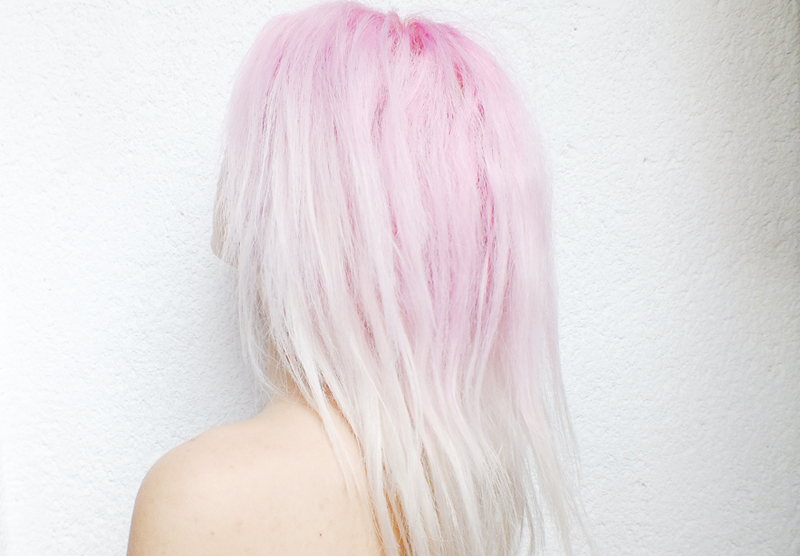 pink hair, pastel hair, pink ombre hair, milica obradovic, moiminnie