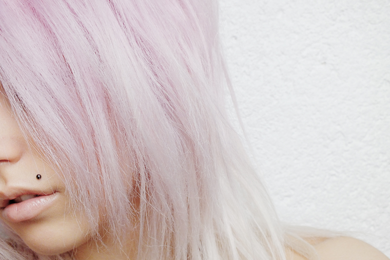 pink hair, pastel hair, milica obradovic, moiminnie, pink ombre hair