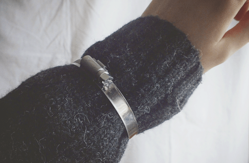 hardware jewelry, minimal style fashion