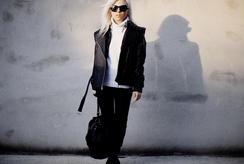 moiminnie, milica obradovic, leather outfit, minimal style fashion, minimal fashion blogs