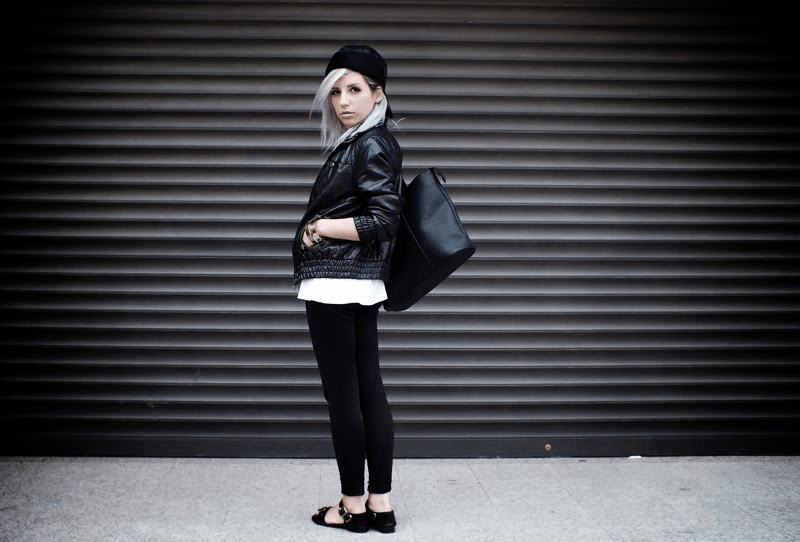 monochrome outfit ideas, minimal style fashion, minimal fashion blogs, moiminnie, milica obradovic
