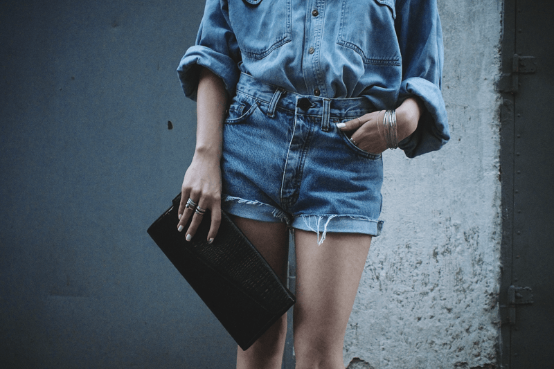 denim on denim outfit ideas, moiminnie, milica obradovic, minimal style fashion, minimal fashion blogs