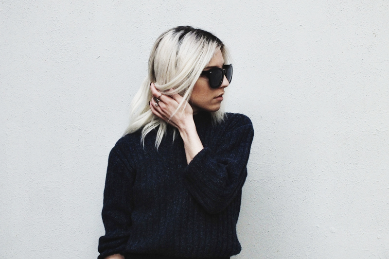 black and navy, moiminnie, milica obradovic, minimal fashion, minimal style, simple outfits, fashion blogs