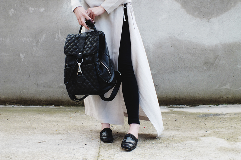skirts over pants, moiminnie, milica obradovic, minimal fashion, style blog