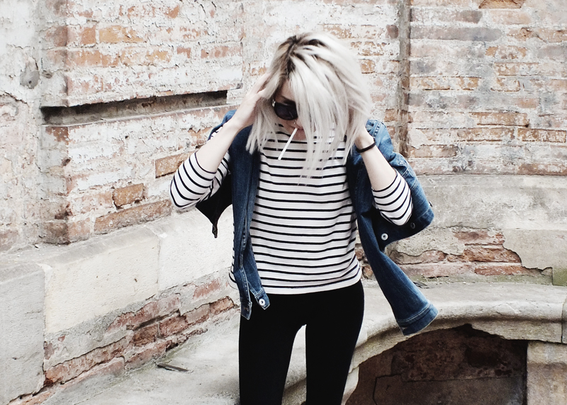 breton stripes, moiminnie, milica obradovic, minimal style, france, touluse, french wardrobe