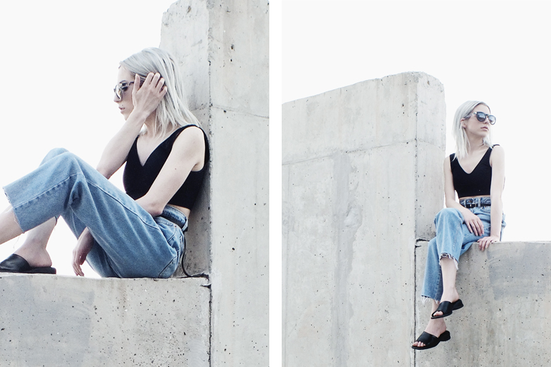 mom jeans trend, styling mom jeans, vintage levis, minimal fashion, moiminnie, milica obradovic
