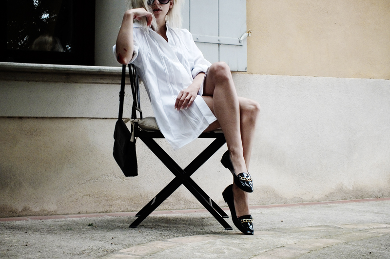 white shirt, moiminnie, milica obradovic, minimal fashion