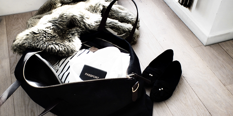 weekend packing tips, cuyana bags, milica obradovic, moiminnie, minimal style
