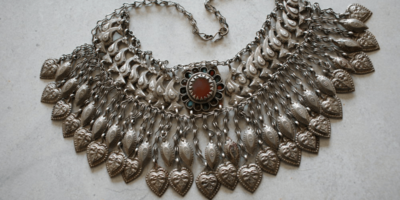 afghani necklaces