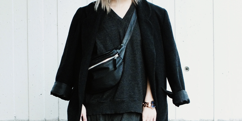 wearing menswear, minimal fashion, minimal blogs, moiminnie, milica obradovic, christina fischer bags, cluse watches