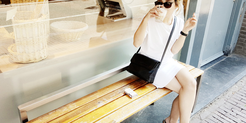 all white outfits, how to wear all white, white outfit ideas, moiminnie, milica obradovic